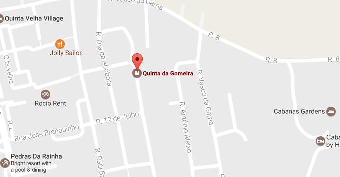 Quinta da Gomeira Google Maps